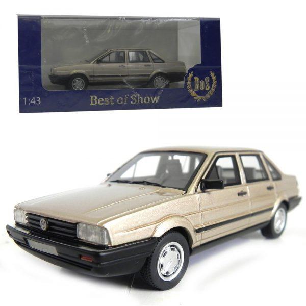 Volkswagen Santana 1986 Beige Metallic 1-43 BOS Models