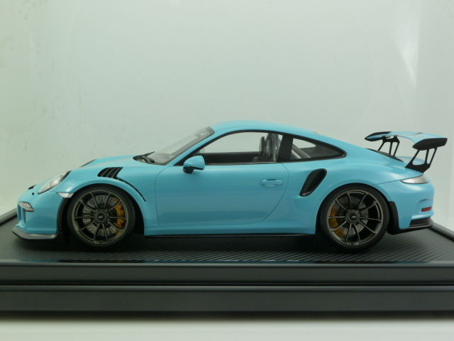 Porsche 911 (991) GT3 RS - 2015 Olympia Blue 1-12 Spark Limited 200 Pieces