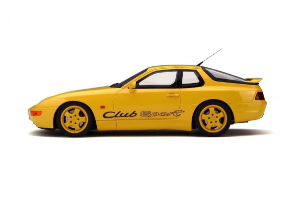 Porsche 968 Club Sport. 1993 Geel 1-18 GT Spirit Limited 1250 Pieces