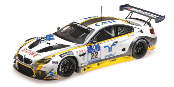 BMW M6 GT3 Rowe Racing 24Hrs Nurburgring 2016 Graf/ Westbrook/ Catsburg/Palttala 1-18 Minichamps Limited 240 Pieces