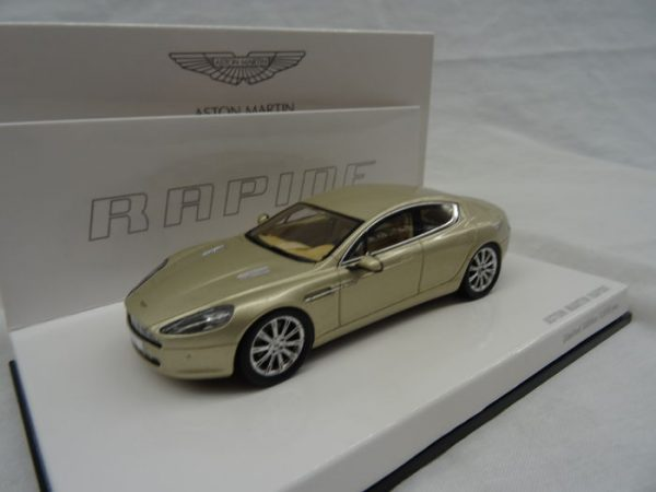 Aston Martin Rapide Silver Blonde 1:43 Minichamps Limited 1010 pcs.