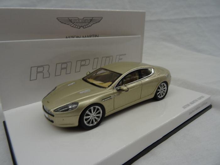 Aston Martin Rapide Silver Blonde 1:43 Minichamps Limited 1010 pcs.