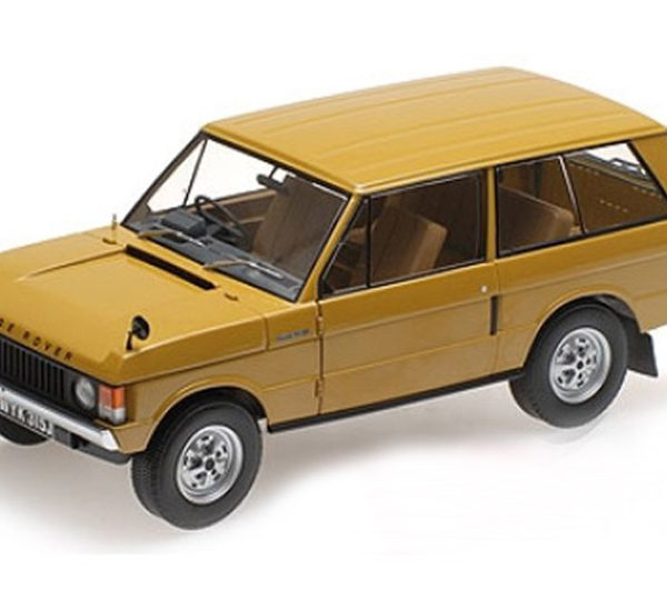 Land Rover Ranger Rover 1970 Bahama Goud 1-43 Almost Real
