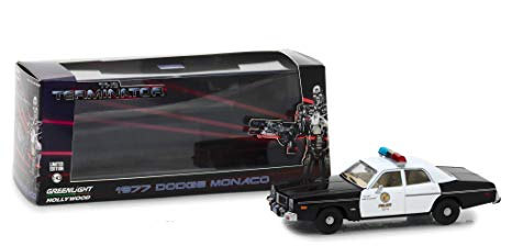 "Dodge Monaco Metropolitan Police 1977 ""The Terminator 1984"" Movie 1/43 Greenlight Collectibles"