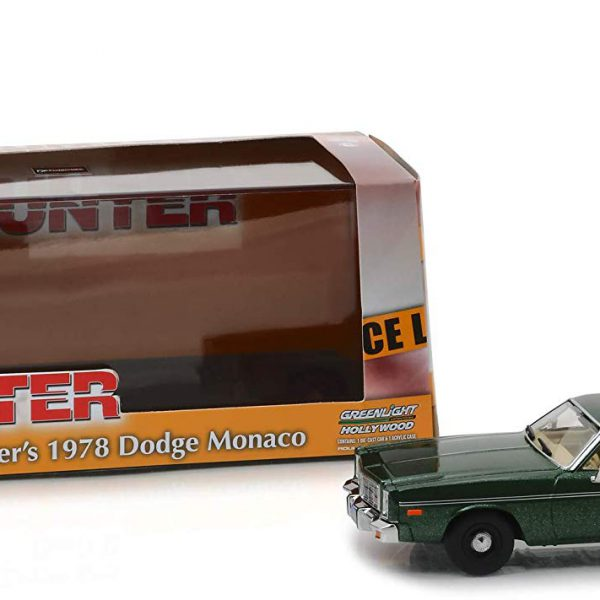 "Dodge Monaco 1977 ""Rick Hunter's ""Groen Metallic 1-43 Greenlight Collecitbles"
