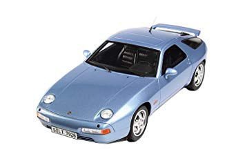 Porsche 928 GTS 1992 Lichtblauw Metallic 1-18 GT Spirit Limited 999 Pieces