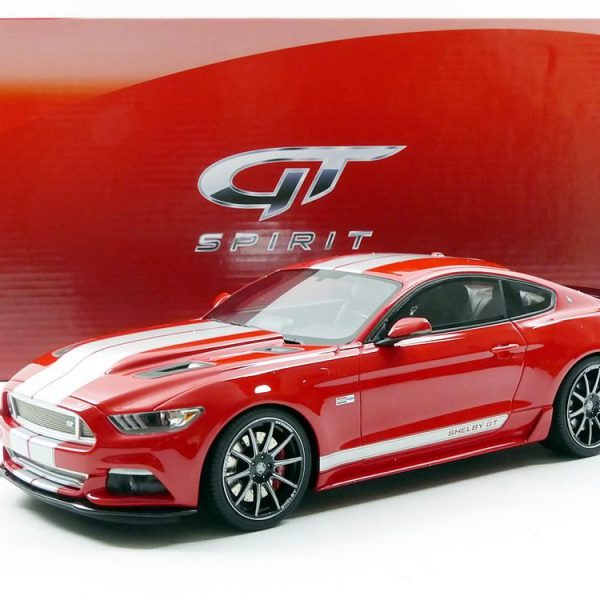 Ford Mustang Shelby 2016 Rood 1-18 GT Spirit Limited 2000 Pieces