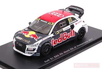Audi S1 EKS Red Bull World RX Hockenheim Rallycross 2017 T.Heikkinen 1-43 Spark