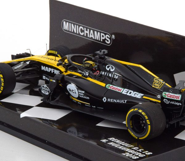 Renault R.S.18 F1 Team N.Hülkenberg 2018 1-43 Minichamps