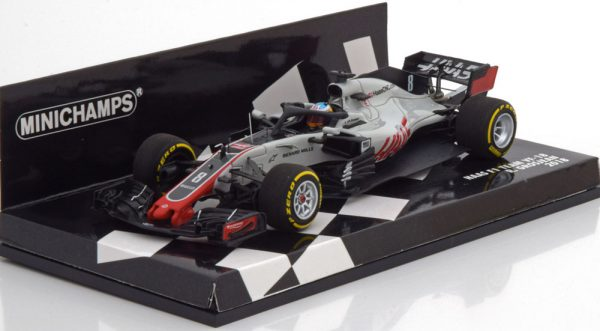 Haas F1 Team VF-18 Ferrari F1 2018 Romain Grosjean, 1-43 Minichamps