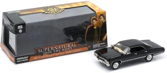 Chevrolet Impala 4-Door 1967 *Supernatural TV Series* Zwart 1-43 Greenlight Collectibles