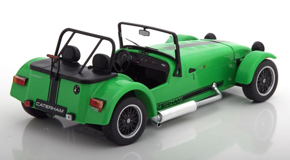 Lotus Caterham Super Seven 275 Groen/ Zwart 1-18 Solido