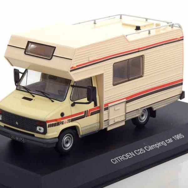 Citroen C5 Camping Car 1985 1:43 Beige Ixo models