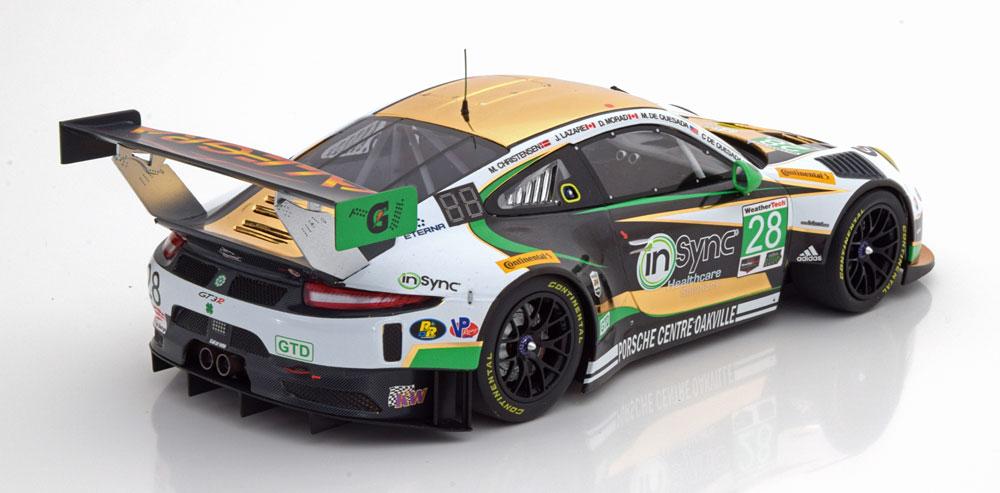 Porsche 911 (991) GT3 R Class Sieger 24h Daytona 2017 de Quesada/de Quesada/Morad/Lazare/Christensen 1-18 Minichamps Limited 300 Pieces