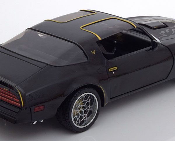"Pontiac Firebird Trans aM 1978 ""Fast & Furious"" Zwart 1-18 Greenlight Collectibles"