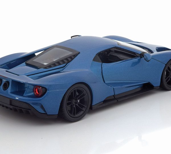 Ford GT 2017 Blauw 1-24 Welly