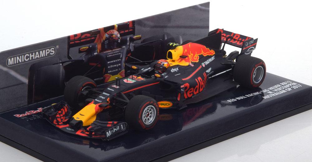 Red Bull Racing TAG Heuer RB13 GP Australian 2017 Max Verstappen 1-43 Minichamps
