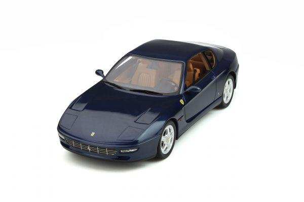 Ferrari 456 GT 1995 Blauw 1/18 GT Spirit Limited 999 Pieces
