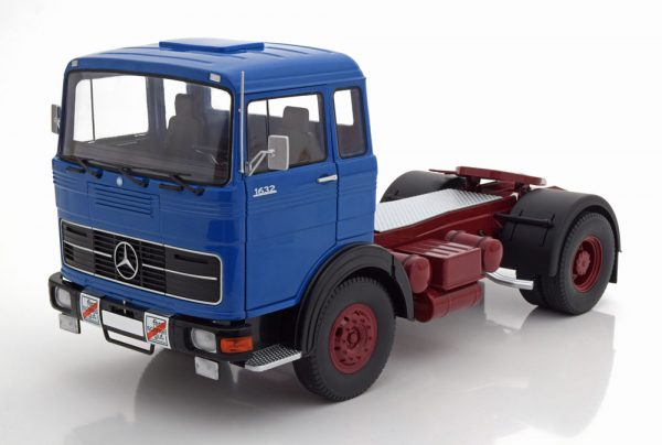 Mercedes LPS 1632 1969 Blauw 1-18 Road Kings Limited 800 Pieces