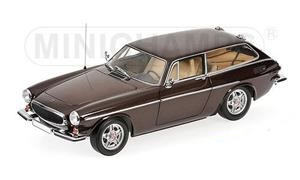 Volvo P1800 ES 1971 Bruin Metallic 1-18 Minichamps Limited 500 Pieces