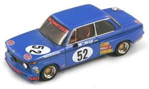 BMW 2002 #52 DRM 1974 W. May Blauw 1-43 Spark