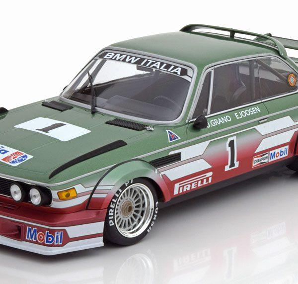BMW 3.0 CSL No.1, ETCC Zandvoort 1979 Grano/Joosen 1-18 Minichamps Limited 414 Pieces