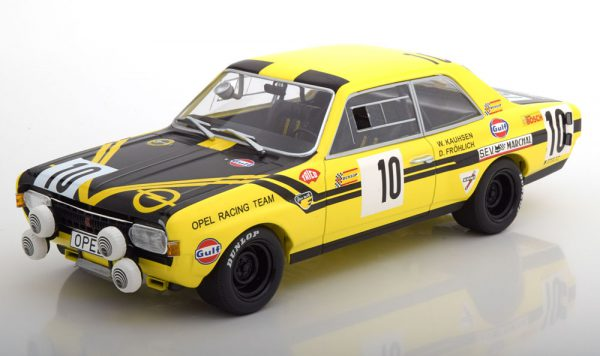 Opel Steinmetz Commodore A No.10, 24h Spa 1970 Kauhsen/Fröhlich 1-18 Minichamps Limited 400 Pieces