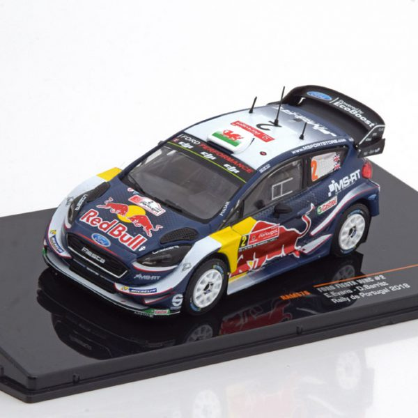 Ford Fiesta WRC No.2, Red Bull Rally Portugal 2018 Evans/Barritt 1-43 Ixo Models