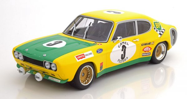 Ford Capri RS 2600 No.3, 24h Spa 1972 Birrel/Bourgoignie 1-18 Minichamps Limited 336 Pieces