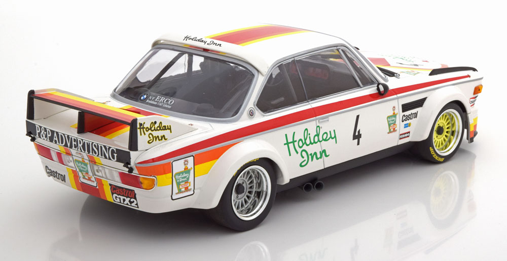 BMW 3.0 CSL No.4, GP Nürburgring 1976 Corbisier/Joosen/Berndtson 1-18 Minichamps Limited 360 Pieces