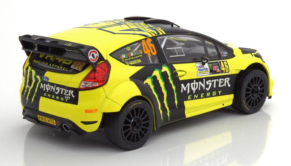 Ford Fiesta RS WRC No.46 Rally Monza 2015 Rossi/Cassina 1:18 Ixo models
