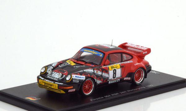 Porsche 911 (964) RSR No.8, 24h Nürburgring 1993 Röhrl/Barth/Memminger/Müller 1-43 Spark