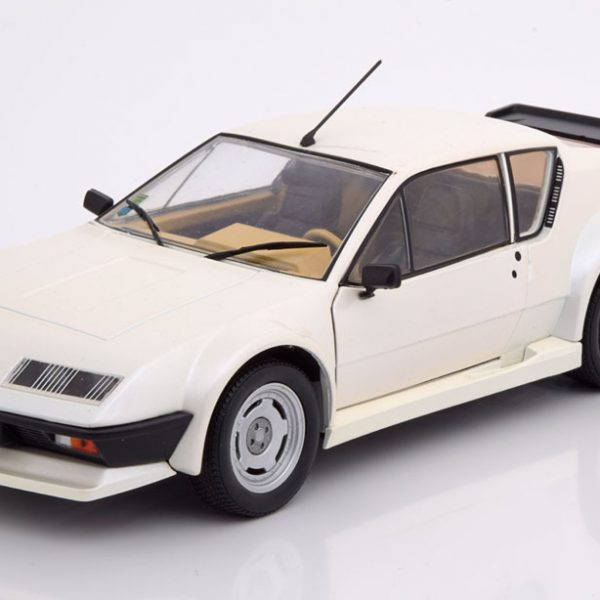Renault Alpine A310 Pack GT 1983 Wit 1:18 Solido