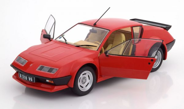 Renault Alpine A310 Pack GT 1983 Rood 1:18 Solido