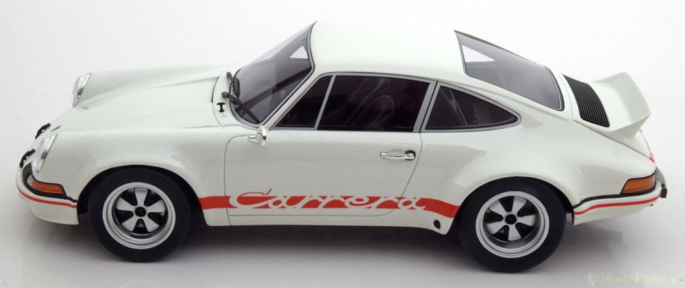 Porsche 911 2.8 RSR Wit / Rood 1-18 Limited Edition 504 pcs.