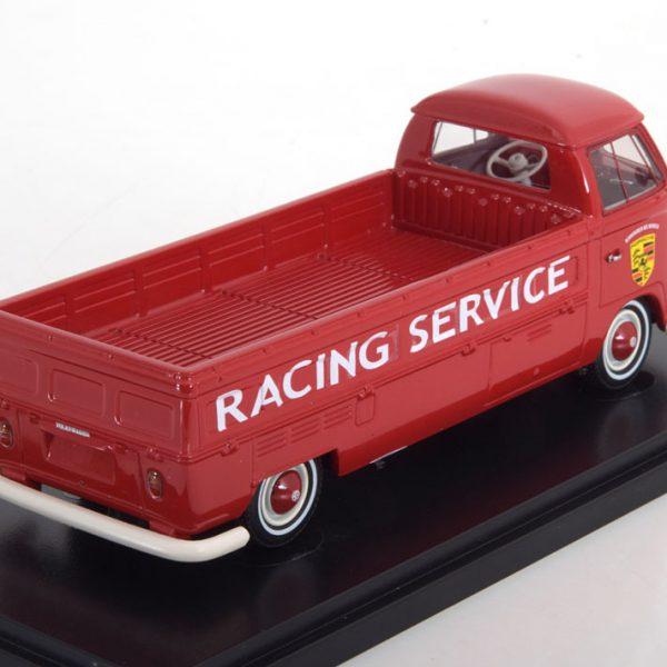 "Volkswagen T1 Pick Up Long ""Porsche Service ""Rood 1-43 Autocult"