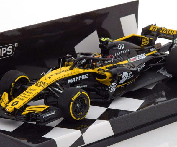 Renault R.S.18 F1 Team 2018 C.Sainz 1-43 Minichamps