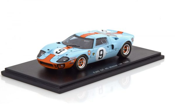 "Ford GT40 Sieger 24h Le Mans 1968 ""Gulf ""Rodriguez/Bianchi 1-43 Spark"