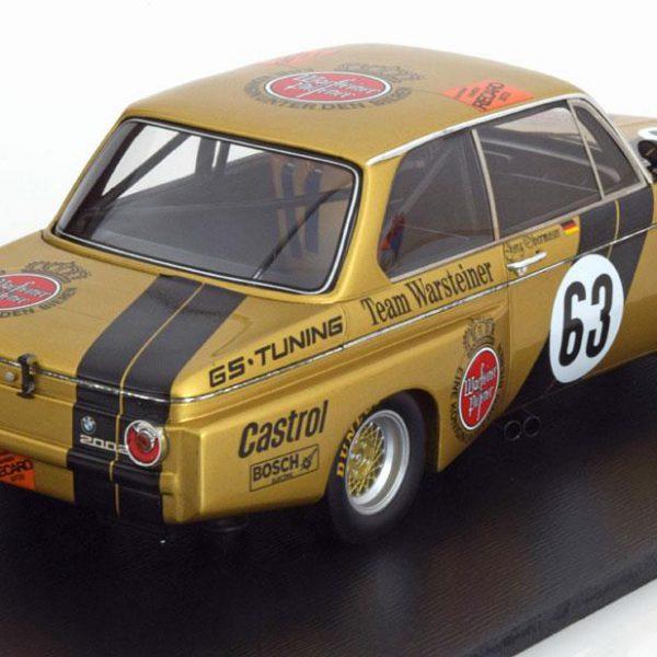 """BMW 2002 Sieger Div.2 Norisring 1975 """"Warsteiner"""" Obermoser 1-18 Spark"""