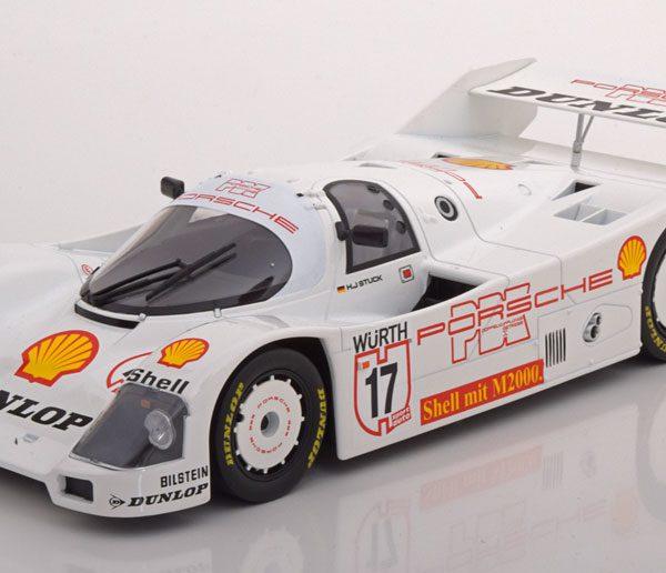 Porsche 962C Sieger Supercup 1987 Stuck 1-18 Norev