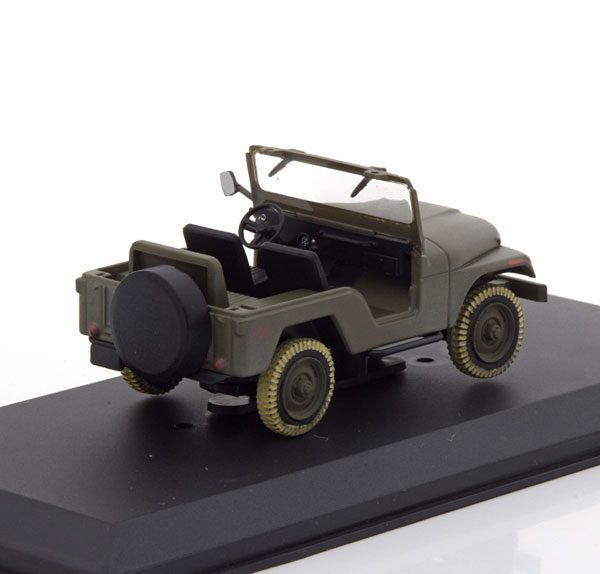 "Jeep CJ-5 1981 ""The A-Team ""Groen 1-43 Greenlight Collectibles"