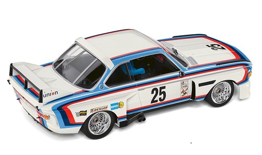 BMW Heritage 3.0 CSL IMSA Nr# 25 H.J.Stuck 1:18 Minichamps BMW Heritage Racing Collection