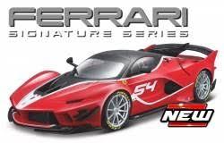 Ferrari Fxx-K Evo Nr# 54 Rood 1-18 Burago Signature Series