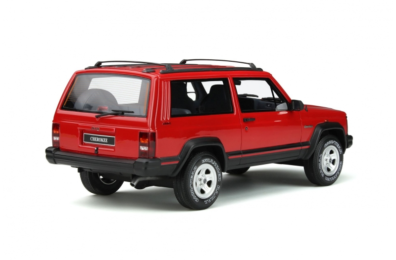 Jeep Cherokee 2.5 EFI 1995 Rood 1-18 Ottomobile Limited 999 Pieces