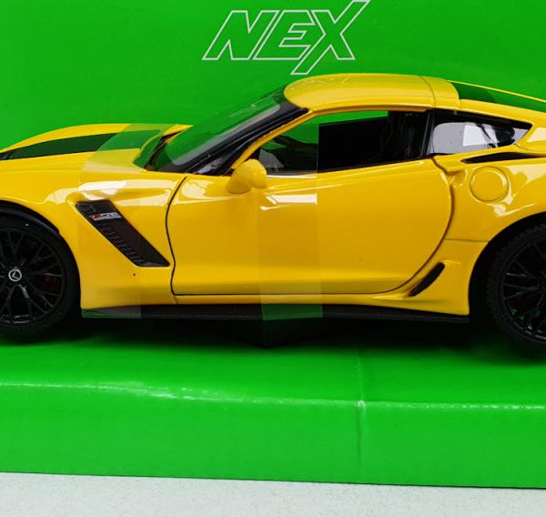 Chevrolet Corvette Z06 Coupe 2017 Rood 1-24 Welly