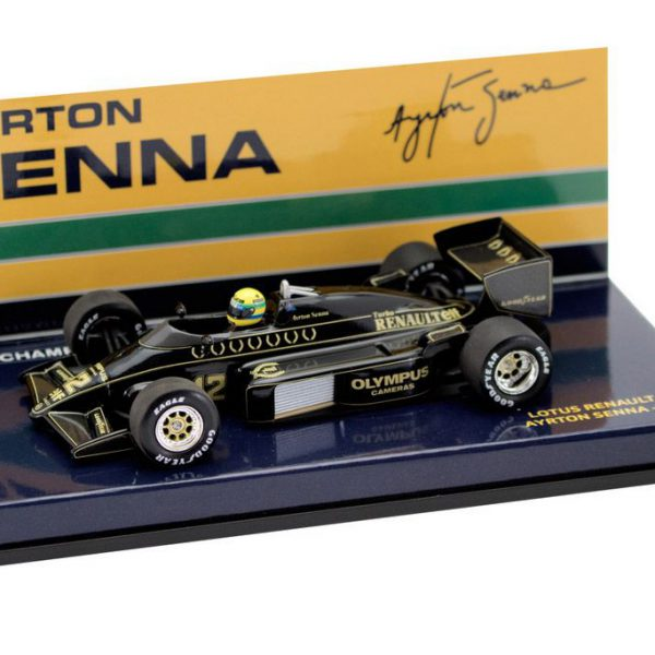 Lotus Renault 97T Ayrton Senna 1985 Minichamps 1-43