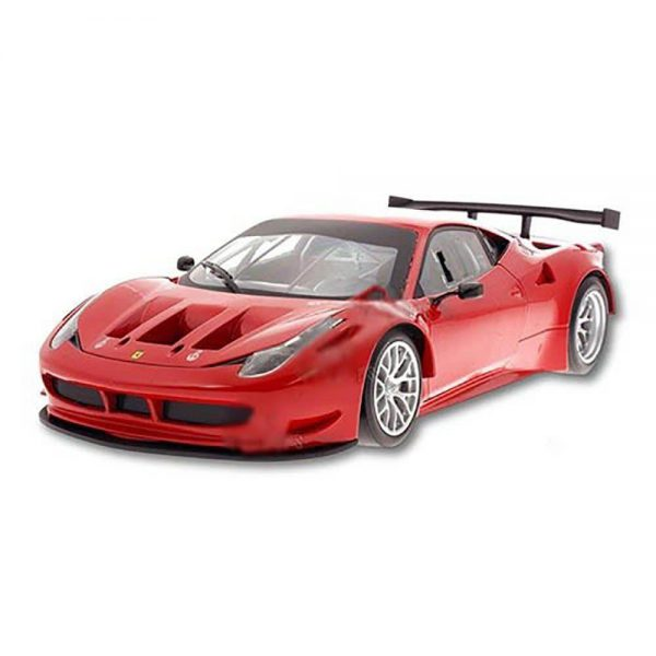 Ferrari 458 Italia GT2 1:18 Rood Hotwheels
