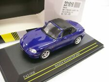 Mazda MX-5 Roadster 2001 Blue With Soft Top 1-43 First 43 Models