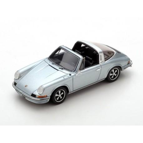 Porsche 911 2.4 S Targa 1973 Grijsblauw 1-43 Spark