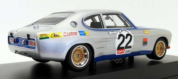 Ford Capri RS 2600 Nr# 22 Winner 24 Hrs Spa 1971 Ford Koln Glemser/Soler-Roig 1-18 Minichamps Limited 336 Pieces